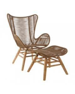Taylor Lounge Chair & Stool