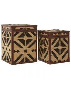 Angra Side Table Trunk