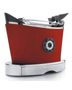 Volo Red Leather Toaster