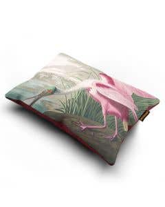 Spoonbill Bird Cushion