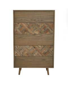Tahoe 5 Drawer Wood Chest