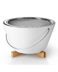Porcelain Table Charcoal Grill