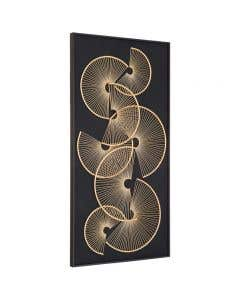 Ancona Metal Framed Wall Art