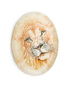 Giant Oval Platter Lion