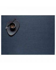 Basketweave Navy Placemat