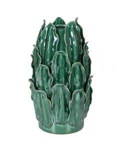 Bierce Tall Leaf Ceramic Vase