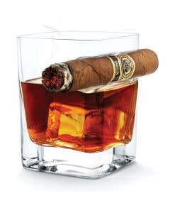 Whiskey Cigar Glass