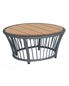 Cordial Side Table Grey Frame