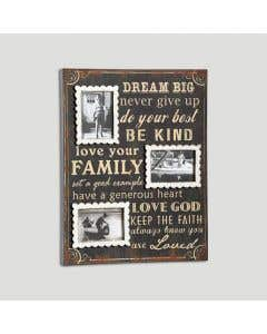 Dream Big Photo Wall Art