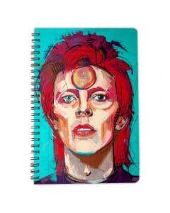 Instant Star Bowie A5 Notebook