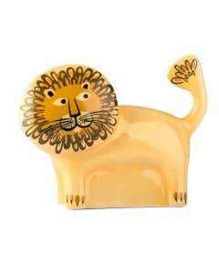Handmade Lion Money Box