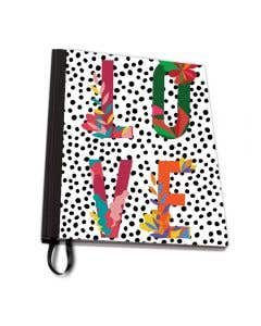 Love Floral A4 Notebook