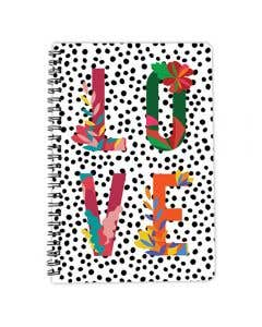 Love Floral A5 Notebook