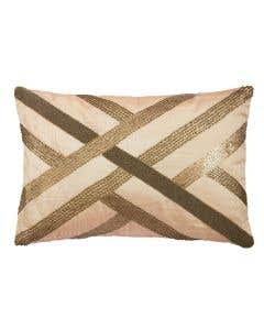 Pure HandiCraft Gold Cushion