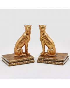 Panther Bookends