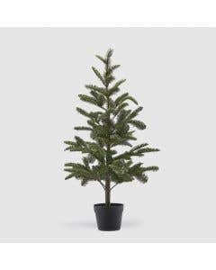 Christmas Tree Green with Vase