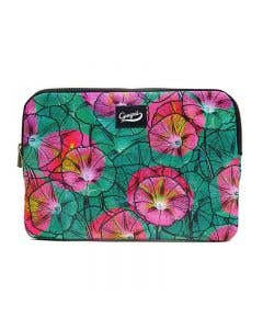 Pink Ipomea iPad Air Sleeve