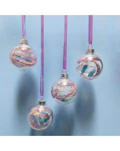 Pixie Filled Baubles Set of 4