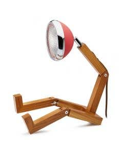 Mr. Wattson Table Lamp Red