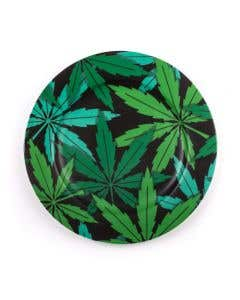 Porcelain Plate Weed
