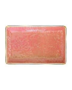 Dusty Pink Gold Serving Plates