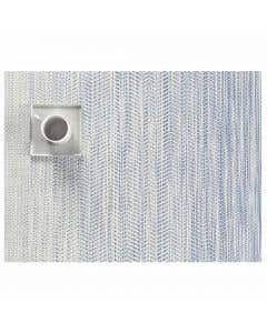 Wave Rectangle Blue Placemat