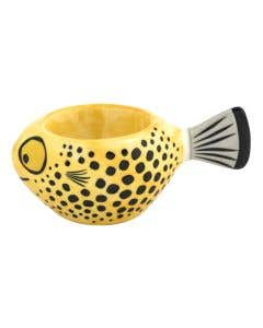 Yellow Fish Egg Cup