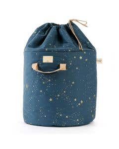 Bamboo Toy Bag Night Blue