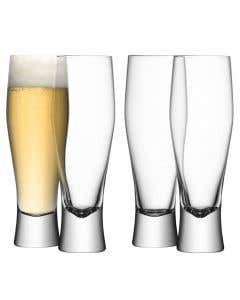 Bar Lager Glass Set of 4