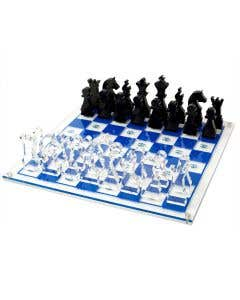 Chess set - Blue