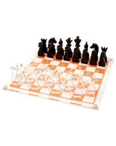 Chess set - Orange