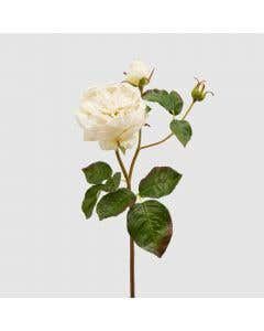 Luxury Artificial Rose – White