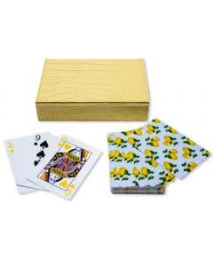 Playing Cards -Capri Lemons